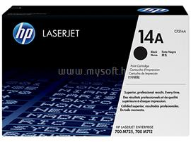 HP 14A Black LaserJet Toner Cartridge, CF214A