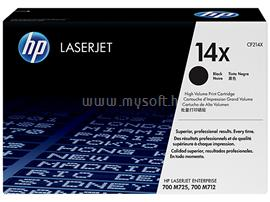 HP 14X High Yield Black LaserJet Toner Cartridge, CF214X
