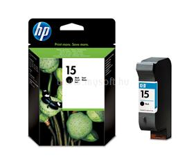 HP 15 Large Black Inkjet Print Cartridge, C6615DE