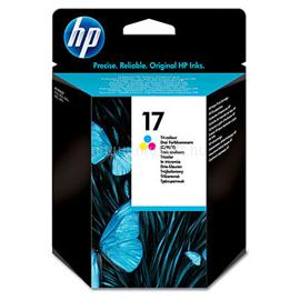 HP 17 Tri-color Inkjet Print Cartridge, C6625A