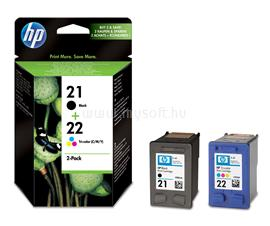 HP 21/22 Combo-pack Inkjet Print Cartridges, SD367AE