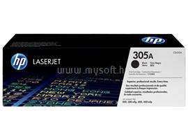 HP 305A Black LaserJet Toner Cartridge, CE410A