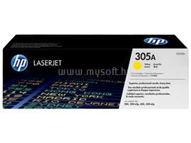 HP 305A Yellow LaserJet Toner Cartridge, CE412A