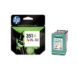 HP 351XL Tri-color Inkjet Print Cartridge, CB338EE