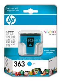 HP 363 Cyan Ink Cartridge, C8771EE