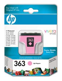 HP 363 Light Magenta Ink Cartridge, C8775EE