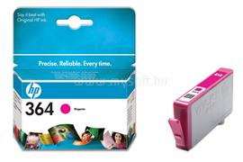HP 364 Magenta Photosmart Ink Cartridge, CB319EE