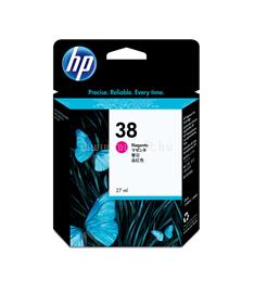 HP 38 Magenta Pigment Ink Cartridge, C9416A