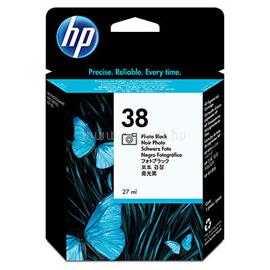HP 38 Photo Black Pigment Ink Cartridge, C9413A