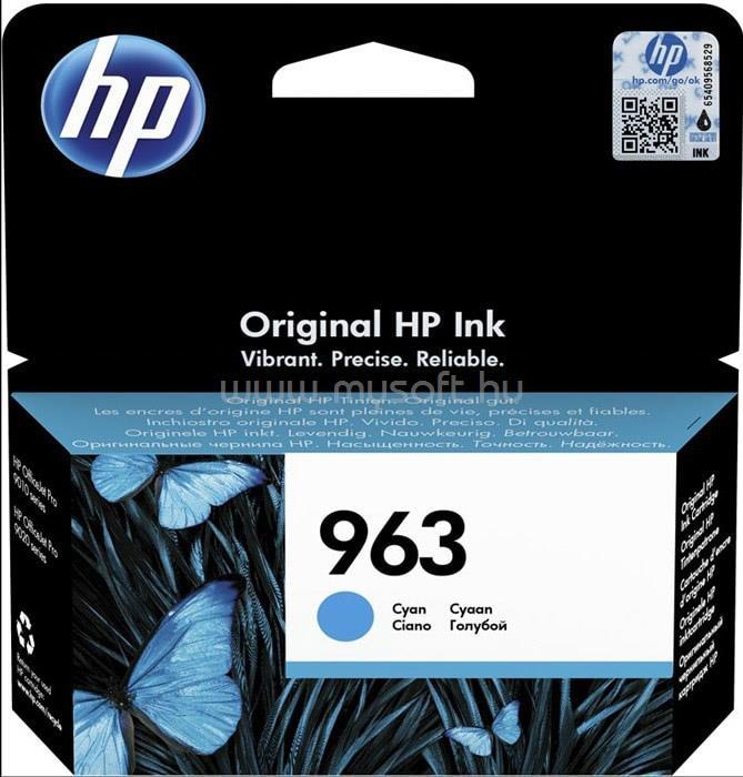 HP 963 Cyan Original Ink Cartridge