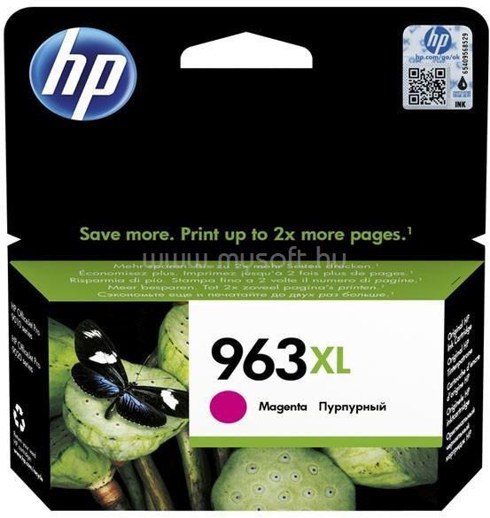 HP 963XL High Yield Magenta Original Ink Cartridge