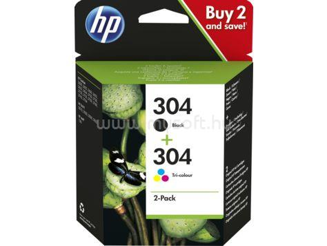 HP 304 2-pack Black/Tri-color Original Ink Cartridges