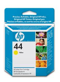 HP 44 Yellow Inkjet Print Cartridge, 51644YE