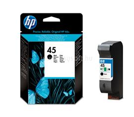 HP 45 Black Inkjet Print Cartridge, 51645GE
