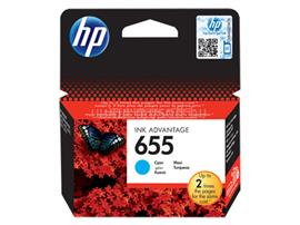 HP 655 Cyan Ink Cartridge (600 oldal), CZ110AE