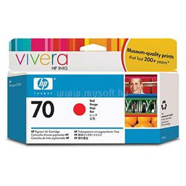 HP 70 130-ml Red Ink Cartridge, C9456A