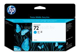 HP 72 130-ml Cyan Ink Cartridge, C9371A