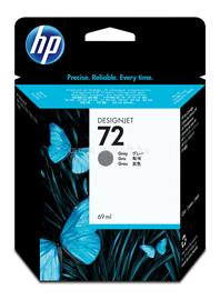 HP 72 69-ml Gray Ink Cartridge, C9401A
