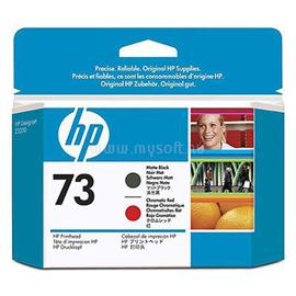 HP 73 Matte Black and Chromatic Red Printhead, CD949A