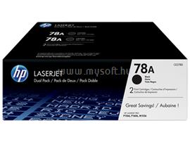 HP 78A Black LaserJet Toner Cartridge, CE278AD