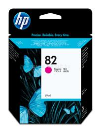 HP 82 69-ml Magenta Ink Cartridge, C4912A