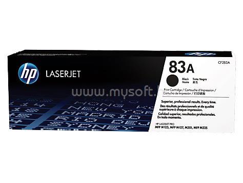 HP 83A Black LaserJet Toner Cartridge (1 500 oldal)