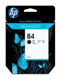 HP 84 69-ml Black Ink Cartridge, C5016A