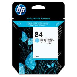 HP 84 69-ml Light Cyan Ink Cartridge, C5017A