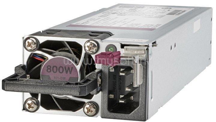 HP 800W Flex Slot Platinum Hot Plug Low Halogen Power Supply Kit