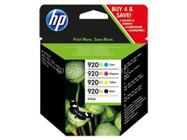 HP 920XL Combo-pack Black/Cyan/Magenta/Yellow Officejet Ink Cartridges, C2N92AE
