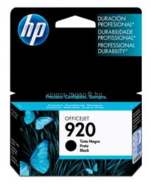 HP 920 Black Officejet Ink Cartridge, CD971AE