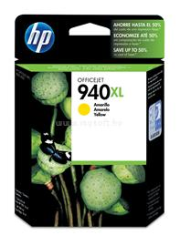 HP 940XL Yellow Officejet Ink Cartridge, C4909AE