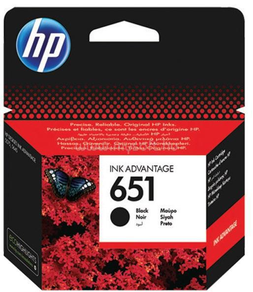 HP 651 Black Original Ink Advantage Cartridge (600 oldal)