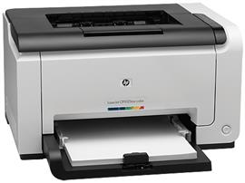 HP Color LaserJet Pro CP1025nw Printer, CE918A