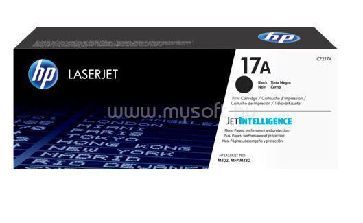 HP Laser Toner 17A fekete 1600 oldal