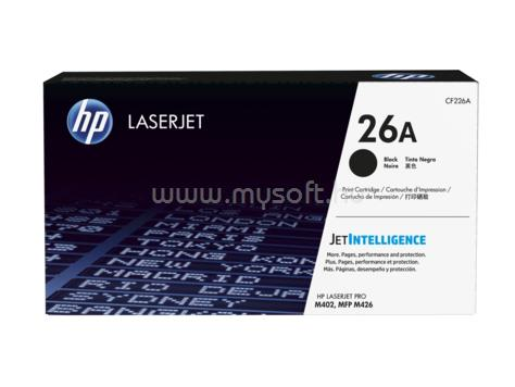 HP 26A fekete LaserJet tonerkazetta