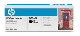 HP Color LaserJet Q3960A Black Print Cartridge, Q3960A