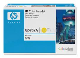 HP Color LaserJet Q5952A Yellow Print Cartridge, Q5952A