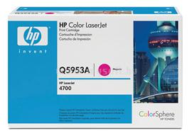 HP Color LaserJet Q5953A Magenta Print Cartridge, Q5953A