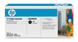 HP Color LaserJet Q6000A Black Print Cartridge, Q6000A