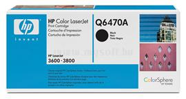 HP Color LaserJet Q6470A Black Print Cartridge, Q6470A