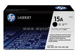 HP LaserJet C7115A Black Print Cartridge, C7115A