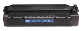 HP LaserJet C7115X Black Print Cartridge, C7115X