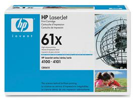HP LaserJet C8061X Black Print Cartridge, C8061X