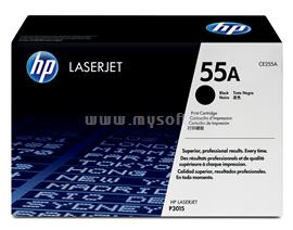 HP LaserJet CE255A Black Print Cartridge, CE255A