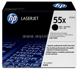 HP LaserJet CE255X Black Print Cartridge, CE255X