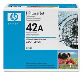 HP LaserJet Q5942A Black Print Cartridge, Q5942A