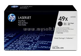 HP LaserJet Q5949X Dual Pack Black Print Cartridges, Q5949XD