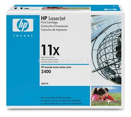HP LaserJet Q6511X Black Print Cartridge, Q6511X