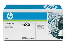 HP LaserJet Q7553X Black Print Cartridge, Q7553X